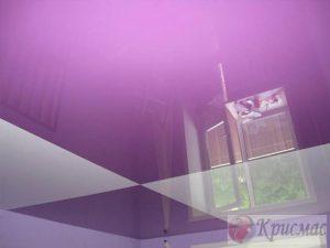 Шахматный потолок на кухню