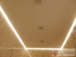 Парящий потолок в санузел