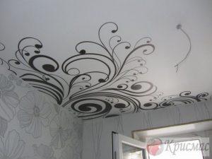 Матовый потолок с фотопечатью