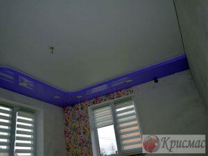 Эксклюзивный натяжной потолок в детскую