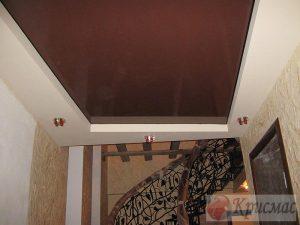 Двухуровневый потолок в прихожую