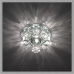 Фото установленного светильника